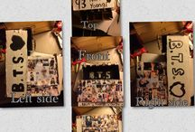 Bts/Exo crafts / Some of the things that I have made that are Bts and Exo based