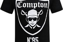 Compton T-Shirt Collection / Speak a little truth and people lose their minds.