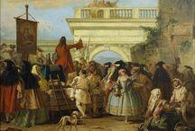 Маскарад 18 век