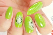 Fruit Nails / juicy and sweet frut on nails