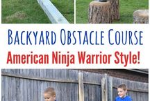 ninja warrior obstacles