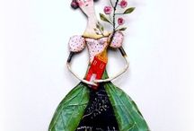Sculptures en papier maché