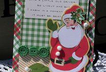 Christmas cards/tags / by Debi Pursley