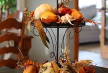 Entertaining & Decor (Fall) / Leaves, pinecones, and a warm fireplace... there's nothing quite like home for the holidays.