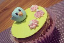 Cupcakes / Decoração em pasta americana!