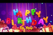 cumpleaños con movimiento