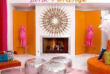 Pink'n Orange / by Oksana Bellas