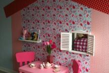 Lisa's nieuwe kamer