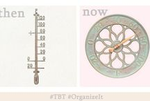 #THROWBACKTHURSDAY / Organize-It throwback products then and now. #TBT #ThrowBackThursday #OrganizeIt