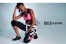 Sporty chic / Sporty outfits, active wear, sporty shoes, sporty accessories