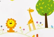 Vinilos Decorativos Para Niños - Bumoon / Vinilos infantiles ideales para colgar en las paredes de las habitaciones de los niños