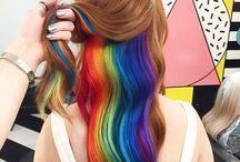 Rainbow and BLONDIE