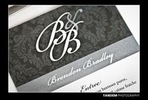 Black , White & Silver Wedding ♡ / Sargent - Bradley wedding details 2012. Christchurch, New Zealand.