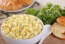 salades voor toastjes