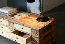 Møbler af gl. paller