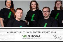 Aikuisten koulutustarjonta kevät 2014 / Aikuisten kevään koulutustarjonta on koottu yksiin kansiin. #Rauma #Pori #Laitila #WinNova
