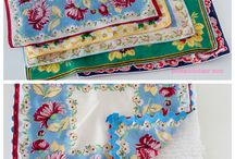 Vintage handkerchiefs / by Nancy Johnson