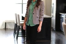 Striped Blazer / by Cindy Tran