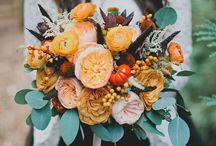 Mariage d'Automne - Inspiration Citrouilles - Autumn Wedding - Pumpkin Inspiration / Des idées pour un mariage d'Automne ou sur le thème d'Halloween.