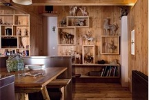 wood rooms