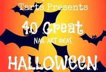 Crumpet Nail Tarts Presents - Halloween / Crumpet Nail Tarts Presents 40 Great Nail Art Ideas #40gnai
