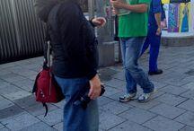 Wahlstory mit Thomas Pfeiffer / Ein ganz normaler Alltag eines Politikers im Wahlkampf. Fotografin Simone Naumann und Pia Kleine Wieskamp begleiten Thomas Pfeiffer 2 Tage während seines Landtagswahlkampfs in München im September 2013 #wahlstory.