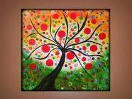 Lollipop trees / I love lollipop trees!  They have a spiritual and visually they remind me of scriptural truths.  I see them, I think of God!