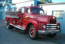 Internatiomal Fire trucks