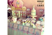 cinderella cake and party / by Cayndzz Uy