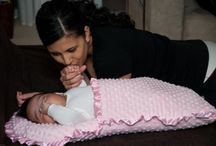 Knited baby blanket