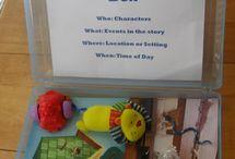Kindergarten Literacy - Story Elements