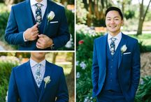 Groom Style at the Camarillo Ranch / Grooms & groomsmen style at the Camarillo Ranch. Men's wedding fashion has sooo much more options now than the traditional, black tux. See for yourself in this board.