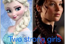 frozen and hunger games