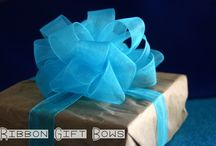 Diy ribbon gift bows