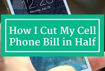 Save on Utilities / How to cut costs on cell phone, water, electricity bills, and more!