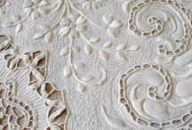 LACE | cutwork / Includes Broderie Anglaise, Whitework and reticella