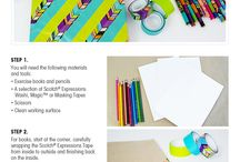 Get Creative with Scotch® Expressions Tape!