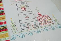 Christmas Sewing / Ideas, patterns and thing to sew for Christmas.