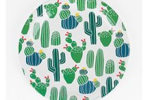 Cactus Party Ideas / Cacti, succulents, desert themes are really trending. Use it for a fiesta, or on it's own for a cactus soiree.