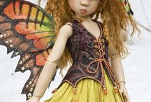 Fairies / Fairy Sculptures and Dolls / by Cynthia Coates