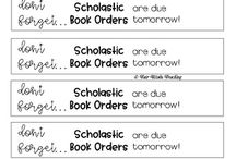 Scholastics Book Club Resources