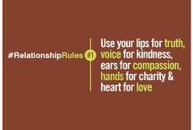#RelationshipRules / Enrich your relationships with insightful tips. 1 tip a day.