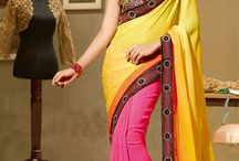 Embroidered Sarees Collection / Looking for the Latest Designer Embroidered Sarees Online? Grab the season's hottest & trendiest collection of party wear designer sarees in discounts @ http://www.mishreesaree.com/Online/New-Arrivals/Latest-Sarees