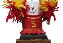 Cheer Christmas Ornaments / by Just Her Sports