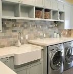 Laundry - Ironing - Scullery Rooms