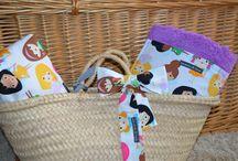 Capazos y toallas de playa / Capazos y toallas de playa para niños