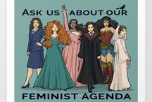 Feminist Freak / feminism and empowerment and human rights and activism