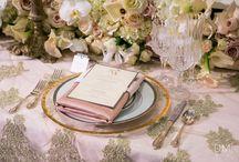 Ritz Carlton Photo Shoot  / Glamorous tablescape