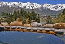 白馬姫川温泉天神の湯 / 白馬ハイランドホテル内の温泉、天神の湯の情報です。 写真を見てもらっても判るように、温泉からの絶景がウリ! 四季を通じて温泉からアルプスを楽しんでいただけます。