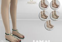 Sims cipők